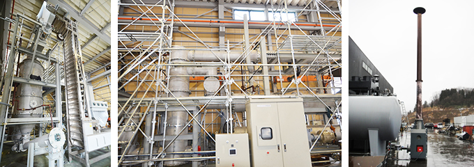 Installation example (2) New technology development toward commercialization of woody biomass power generation