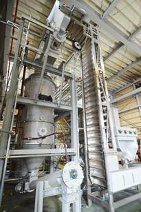 燃料投入システム→ガス化炉